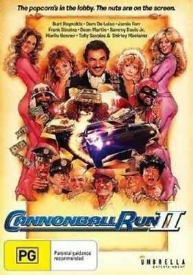 Cannonball Run II [New DVD] Australia - Import, NTSC Region 0