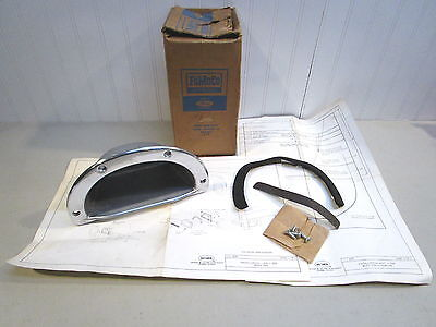 Nos 1961-1969 Ford F-100/250 & Econoline Pickup Accessory Bed Side Step, New Oem