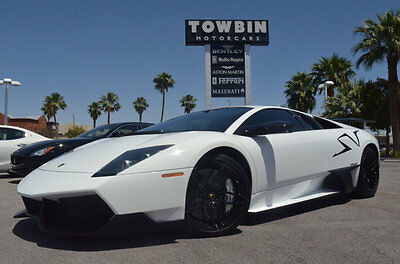2010 Lamborghini Murcielago 2010 Lamborghini Murcielago LP670-4 SuperVeloce Co 2010 Lamborghini Murcielago LP670-4 SuperVeloce SV Coupe *RARE* ONLY 2795 Miles