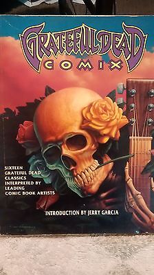 grateful dead comix book 1992 first edition paperback intro by  Jerry Garcia