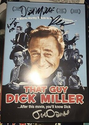 That Guy Dick Miller Dvd Signed 4X By Joe Dante Dick & Lainie Elijah Drenner