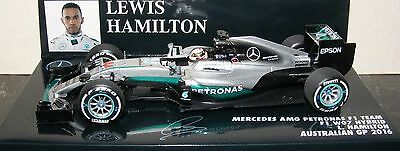 Lewis Hamilton 1:43 Mercedes AMG F1 Team W07 2nd Place Podium GP Australia 2016
