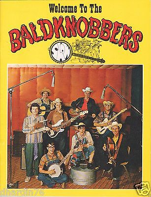 Vintage Welcome to the Baldknobbers Souvenir Program + Picture