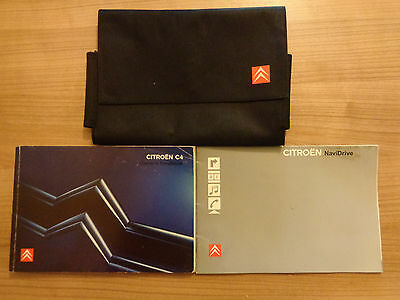 Citroen C4 Owners Handbook/Manual and Wallet 04-08