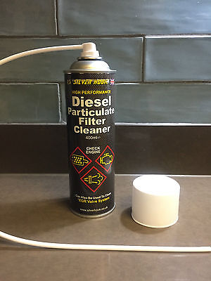 Silverhook DPF Cleaner Aerosol Diesel Particulate Filter Cleaner + EGR -  400ml
