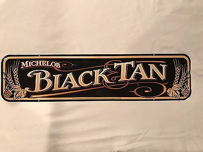 Michelob Black Tan 1999 Metal Beer Sign