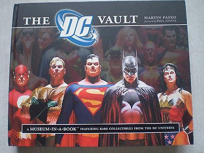THE DC VAULT A Museum-in-a-Book by Martin Pasko Feat Rare Collectibles 2008 Mint