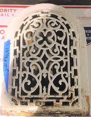 Antique Salvaged Vintage Floor Wall Grate Heat Return Register Vent  #21