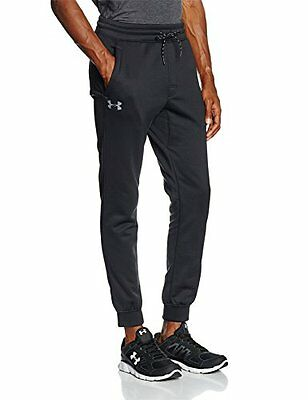 (TG. XL) nero - nero Under Armour Af Storm Icon-Pantaloni da uomo, colore: nero,