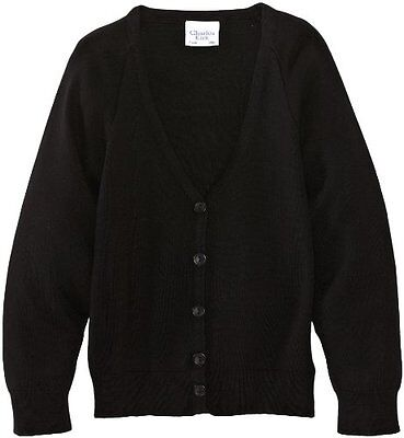 Nero (Black) (TG. C34 IN- UK) Charles Kirk Coolflow - Cardigan, unisex, Nero (Bl