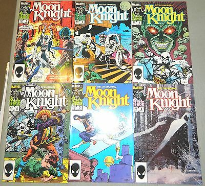 Moon Knight V2 1 2 3 4 5 6 Set Marvel Comics Fist Of Khonshu Warner Er Cruz