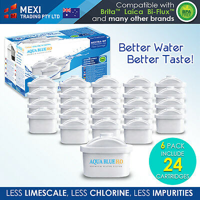 24 x Brita Maxtra Compatible Water Filter Jug Cartridge Four in a Pack