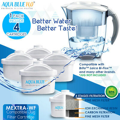 NEW Brita Maxtra compatible Water Filter Cartridge 4 Pack