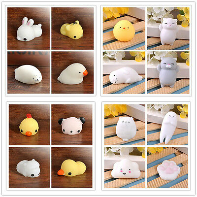 Multi Styles Press Doll Soft Japan Sea Lion Mochi Squeeze Stress Relieve Toys