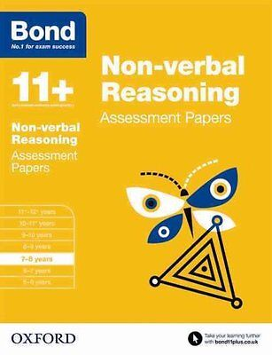 Bond 11+: Non Verbal Reasoning: Assessment Papers 7-8 Years 9780192740229