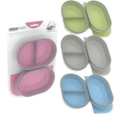 SureFlap SureFeed Mat & Bowl Set for Microchip Pet Feeder