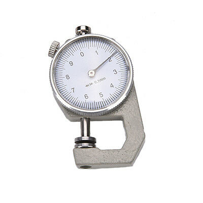 0-10mm New Leather Thickness Metal Gauge Tester Measure Leathercraft Tool Craft