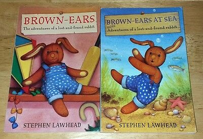 Lot of 2 Books: Brown-Ears by Stephen Lawhead