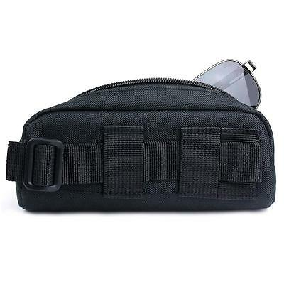 Tactical Molle Eyeglasses Bag Sunglasses Carry Case Outdoor Sport Glasses Pouch