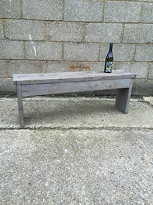 Rustic Up-Cycled Bench