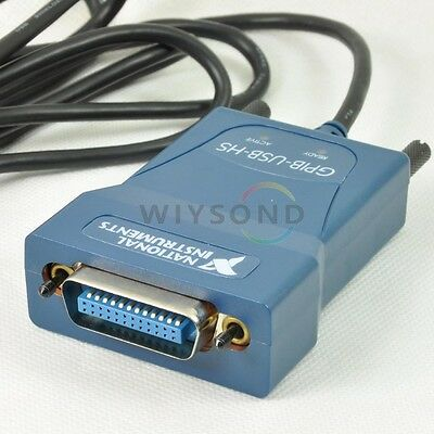 (used) National Instrumens NI GPIB-USB-HS Interface Adapter controller IEEE 488