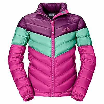 Rosa (Pink Passion) (TG. 92 cm) Jack Wolfskin, Giacca Bambina Icecamp, Rosa (Pin