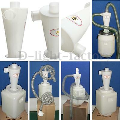Plastic Dust Separation Vacuums Cleaner Filter Dust Collector Cyclone Collector
