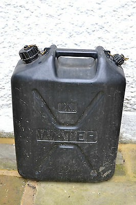 British Army 20L Jerry Can Water Can Storage Container Hard Plastic Construction