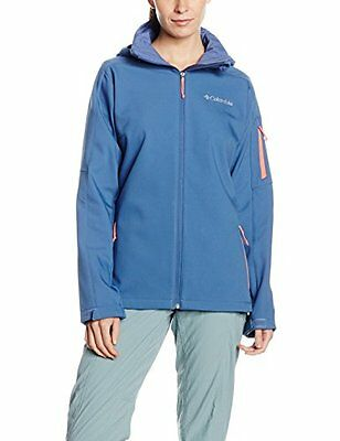Bluebell/Hot Coral (TG. Small) Columbia Sportswear Company Ltd - Giacca softshel