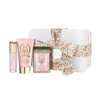 MOR Believe Gift Set Marshmallow Trio Hand Cream, Perfume Oil and Soapette