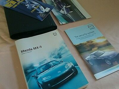 Mazda Mx5 Owners Manual Handbook Wallet 2007