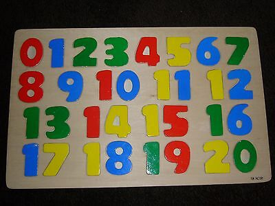 A great educational present - Fun Factory wooden number board