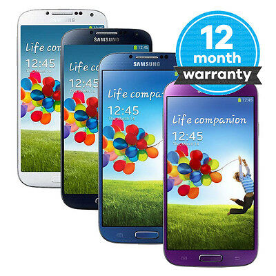 Samsung Galaxy S4 GT-I9505 - 16GB - Unlocked SIM Free Smartphone Various Colours