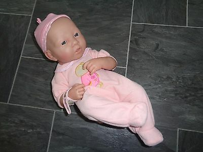 la newborn baby berenguer girl doll, anatomically correct with clothes/ID band