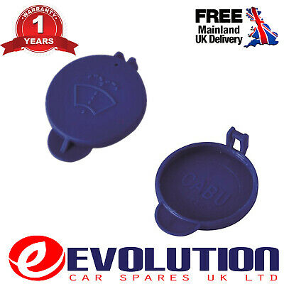 Windscreen Washer Bottle Top Cap Blue For Ford Fiesta Mk5 05-08, 5S6117632Ab