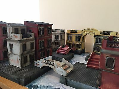 Wargaming Terrain Scenery Steampunk Carnevale Venice Fantasy Fully Painted