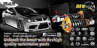 Revhigh Holden Performance GAUGES GAUGE POD HOLDER Pillar Mount VE
