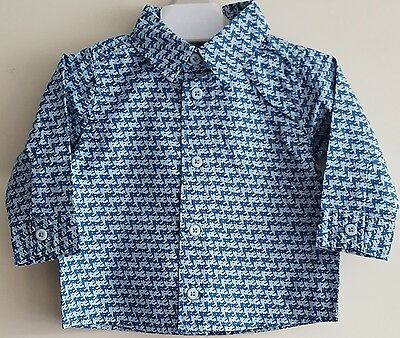 "Baby Boys Shirt ""ex M&s"" Long Sleeve Casual Shirts"