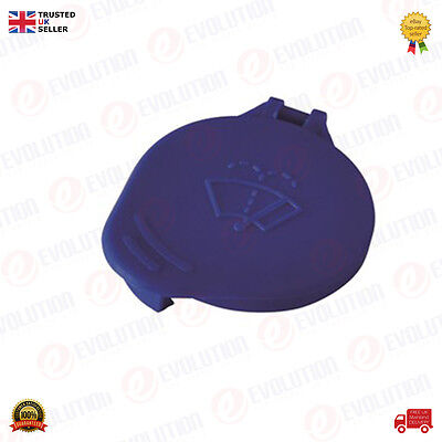 Windscreen Washer Bottle Cap Blue For Ford Focus Mk2 2005 To 2008, 1450992