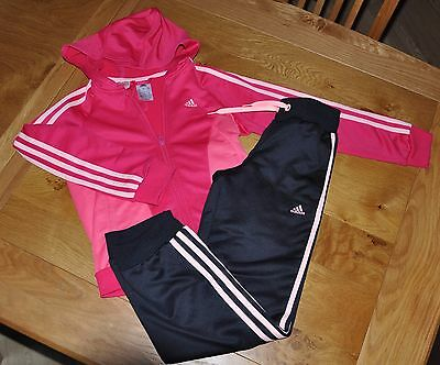Girls Adidas Tracksuit Age 9-10 Years