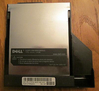"""Dell 3.5"""" 1.44MB Floppy Disk Drive Module for Laptop"""