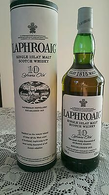Laphroaig Rare Old Travel Exclusive! 10 Year - 43%!!! - 1 Litre! From Late 90s!!