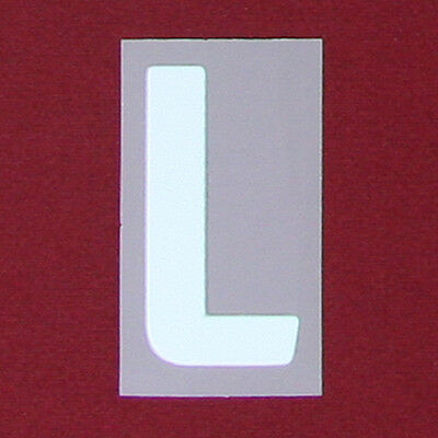 * 16 / 19 English Football League; Championship - White Letter; L = Adults*