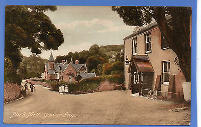 Old Vintage Postcard Park Mill Gower Inn Glamorgan Wales