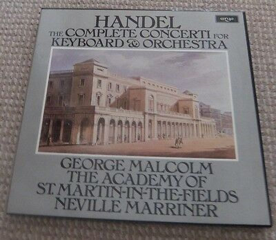 """Handel  The Complete Concerti for Keyboard and Orchestra 12"""" Vinyl Record"""