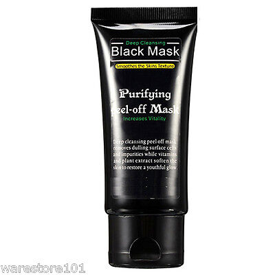 1x 50ml Purifying Blackhead Remover Peel-Off Facial Cleansing Black Face Mask UK