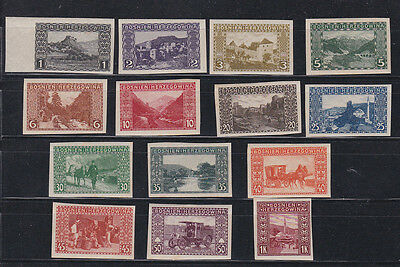 1905 Sc 30b/43b,14 imperf stamps f2097