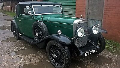 1931 Alvis 12/60 TL Doctor's Coupe - Ready to Rally!