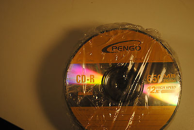 25 PAK CD-R Media Blank by Pengo 650MB 12X 74 minutes