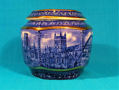 "Wade ""Castles & Cathedrals"" Tea Caddy for Ringtons - NO RESERVE"